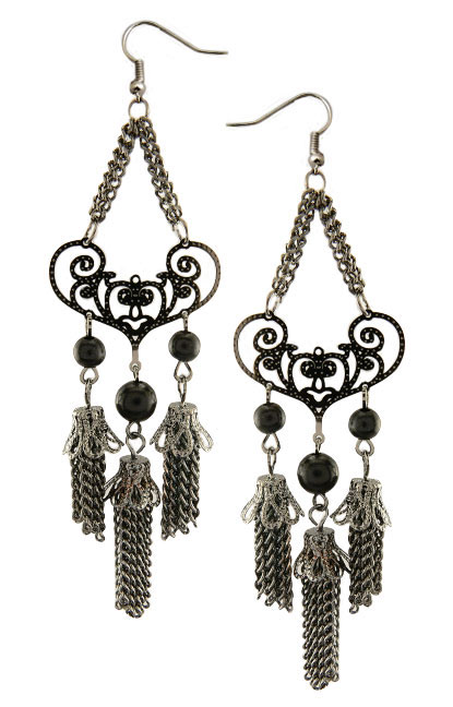 "4.5"" Chain Dangle Earrings"