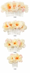Cherry Bridal Hair Comb Accessory