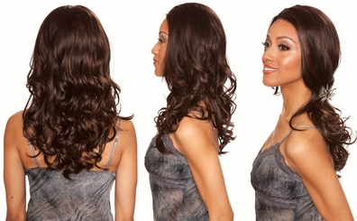 Heat and Styling Friendly Lace Front Wig with Perfect Tousled Curls