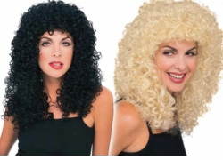 Slash Rocker Curly Wig