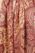 Soft Paisley Scarf with Fringe