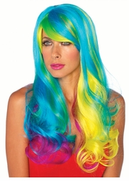 Prism Multi Colored Wig