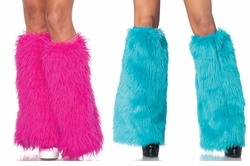 Furry Leg Warmers