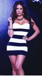 Sweetheart Stripe Dress