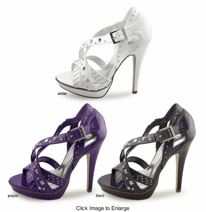 "SALE** 5"" Studded Criss Cross Shoes"