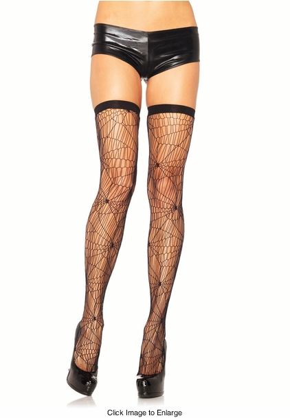 Spider Web Net Stockings