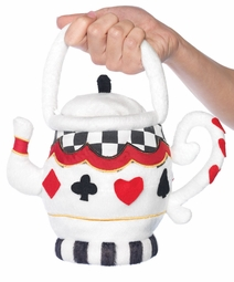 Costumes-Plush Teapot Handbag