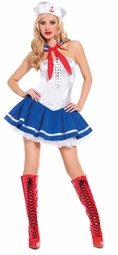 Strapless Sailor Honey Costume
