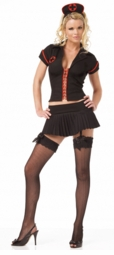 Black Gothic Nurse Costume