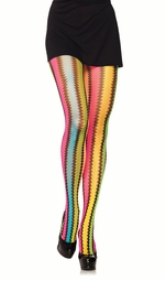 Crochet Stripe Pantyhose