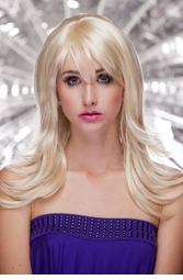 Textured Wig in California Blonde