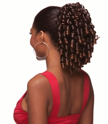 Spiral Curls Drawstring Hair Piece