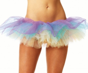 Pastel Multi Colored Tutu Petticoat
