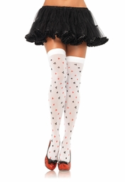 Queen of Hearts Opaque Card Stockings