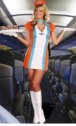 Sexy Flight Attendant, Stewardess and Top Gun Costumes