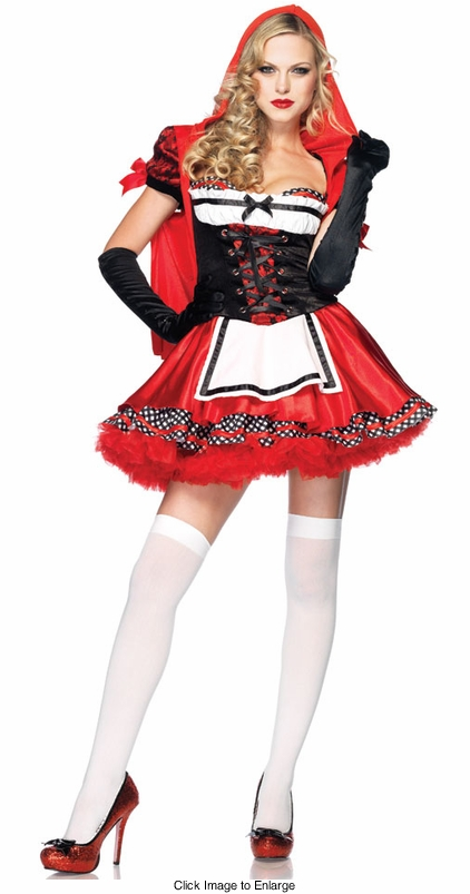 Luxe Divine Little Red Riding Hood Costume