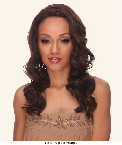 Heat and Styling Friendly Lace Front Wig with Soft Water Curls