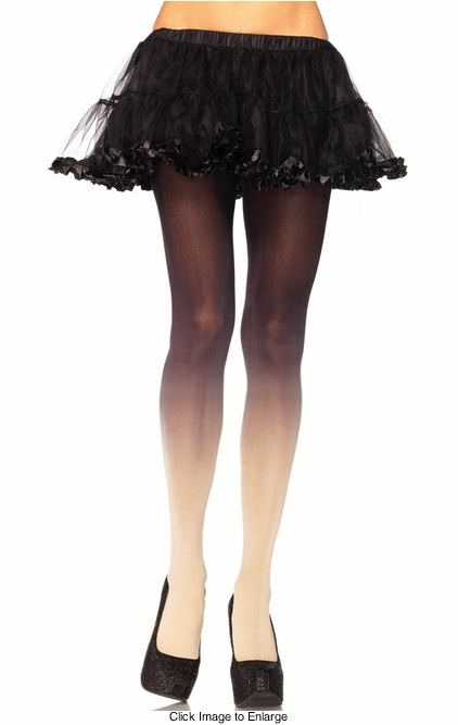 Ombre Sheer Pantyhose