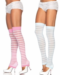 Stripe Leg Warmers