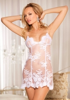 Lace Fantasy Mini Dress