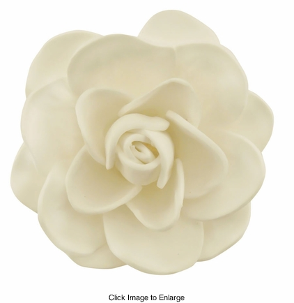 "2.5"" Cream Gardenia Flower Hair Clip"