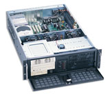 "3U Rackmount Server Chassis, 25.6"" Deep, 12 Bays, 3 Fans, Case only, Model # EJ-3U6510-C"