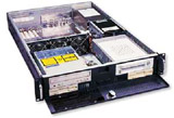 "2U Rackmount Server Chassis, 25.6"" Deep, 7 Bays, 3 Fans, Case only, Model # EJ-2U647-C"