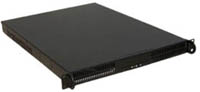 "1U Rackmount Server Chassis, 23.6"" Deep, 4 Bays, 4 Fans, Dual Xeon/Opteron Ready, Case only, Model # EJ-104"