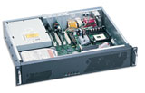 "2U Short Rackmount Server Chassis w/ 250W Power Supply, 13.9"" Deep, 3 Bays, 2 Fans, 5 x Low Profile PCI Slots, Model # EJ-2U354"