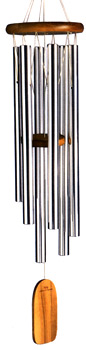 Wind Chimes of Olympos by Woodstock Chimes: Silver Tubes