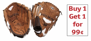 Easton 12 in. Natural Elite Fastpitch Series Glove NE12FP -- BUY 1 GET 1 for 99 cents!