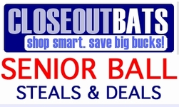 Senior League Baseball Bats --  Closeouts