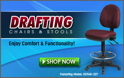 Office Star Deluxe Ergonomic Drafting Chair