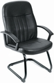 Boss Guest Chair with Sled Base [B8109]