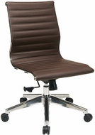 Office Star Contemporary Armless Office Chair [73638]