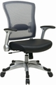 Office Star Flip Up Arm Mesh Back Chair [317-E36C61R5]