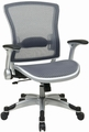 Office Star Deluxe Mesh Task Chair with Flip Up Arms [317-66C61R5]