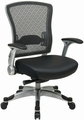 Office Star Mesh Back Memory Foam Chair [317-ME3R2C6KR5]