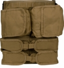 Clearance Paraclete Back Panel w/ Sewn On Pockets and Camelbak Slot