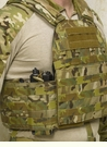 High Ground Gear Plate Carrier, Side Plate and Radios Cummerbund