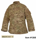 Clearance Tru-Spec Tactical Response Uniform Shirt, Multicam 50/50 NyCo