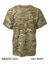 Clearance Tru-Spec 100% Cotton T-Shirts - Multicam