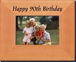 90th Birthday Gift Frame