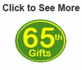 65th Birthday Gifts & Ideas