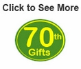 70th Birthday Gifts & Ideas