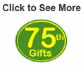 75th Birthday Gifts & Ideas