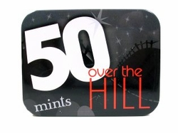 50th Birthday Gag Gift Mints