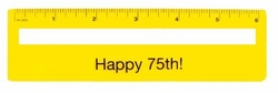 75th Birthday Gift Idea - Magnifying Ruler