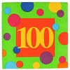 100th Birthday Napkins