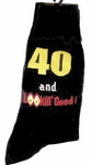 Funny 40th Birthday: 40th Birthday Socks